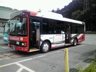 おまけ? 加賀白山バス