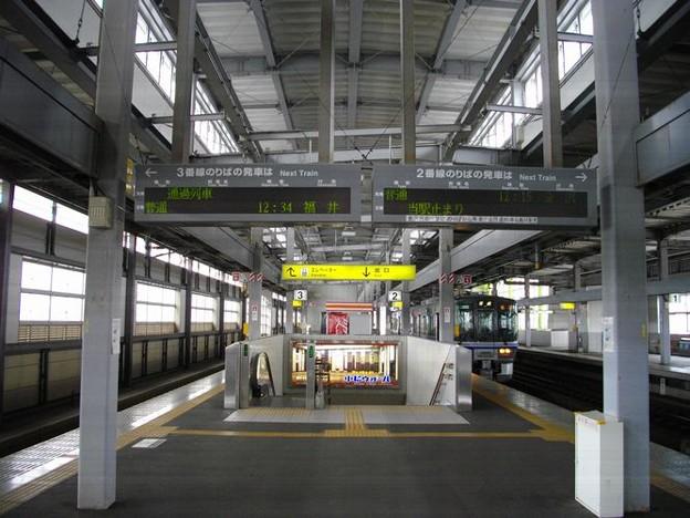 小松駅電光案内板