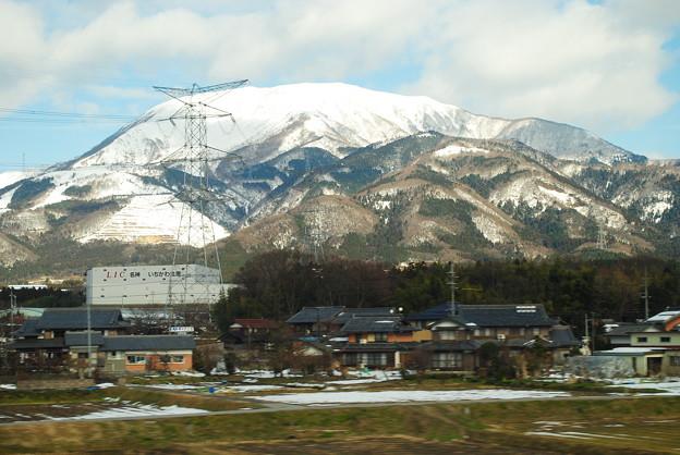 15.雪化粧伊吹山