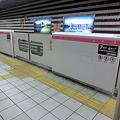 Photos: 北新地駅の可動式ホーム柵