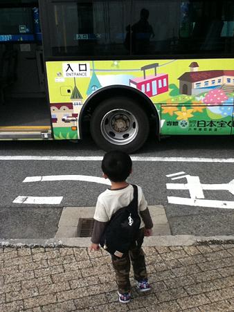 20111010六甲山へのバス