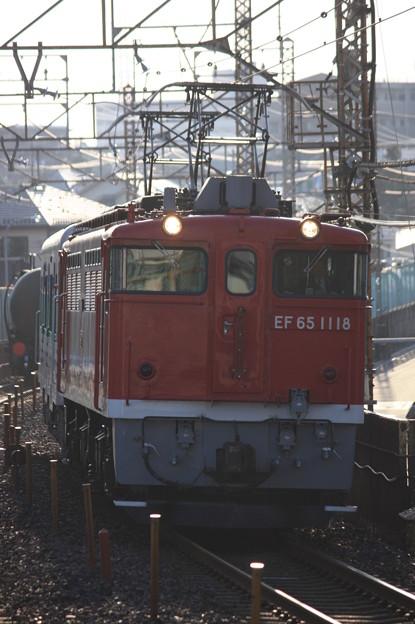 EF65-1118+キハ38-4