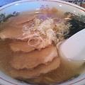 Photos: 中河原のそば屋のチャーシュー麺の塩。なんとも懐かしい味。すっきり...