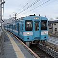 Photos: 幸せの、水色列車♪