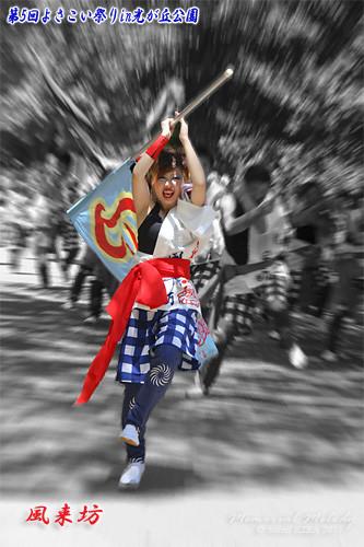 写真: 風来坊_20 - よさこい祭りin光が丘公園2011