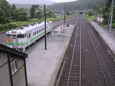 落合駅ホーム1