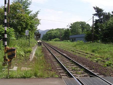 大沼公園駅ホーム2