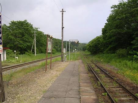 赤井川駅ホーム2