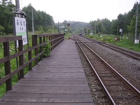 古瀬駅ホーム1