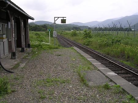 上白滝駅1