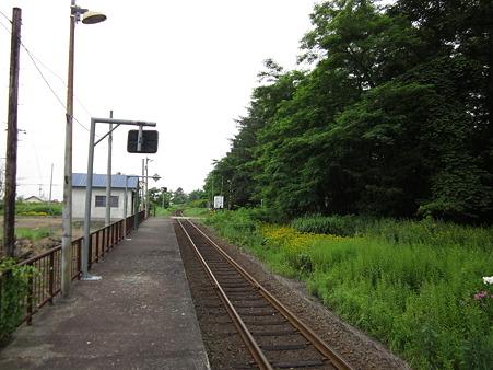 札的駅ホーム2