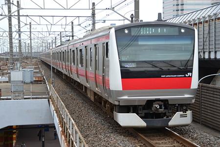 E233系5000番台@南船橋駅