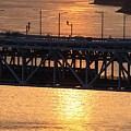 瀬戸大橋を走る