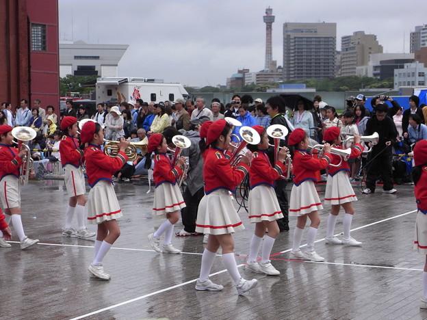 日枝小学校マーチングバンド