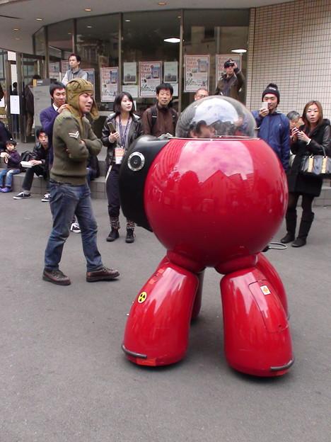 COS PLAYER面白いロボットだったよ。