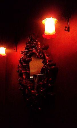 トイレ前w@Cafe La Boheme_お台場