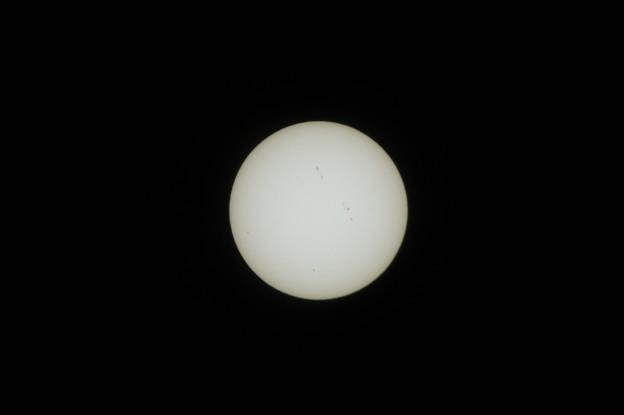 金環日食の予行演習