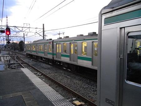 205系(指扇駅)1