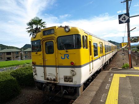 キハ47山口線(宮野駅)3