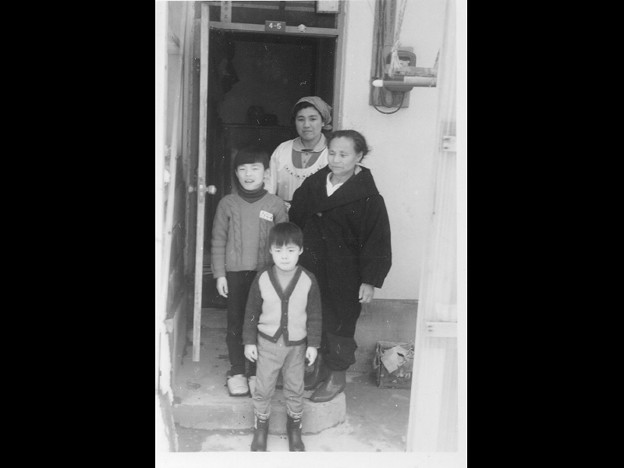 ■私と弟、母、父方祖母。■...