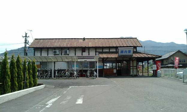 長野電鉄屋代線・綿内駅 (駅本屋)