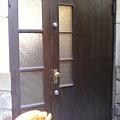 Photos: このドアの向こうが、蕎麦屋