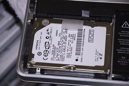 MacBookPro SSD交換&OptiBay導入作戦06