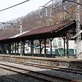 長野電鉄 屋代線 屋代駅ホーム1