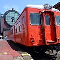 Photos: 真岡鐵道 真岡駅とキハ20系?廃車車両