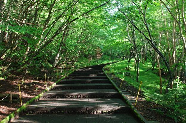 富士山須走五合目登り口