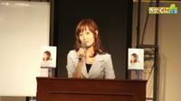 いのちの電話公開講座に松田陽子さんが来られました。