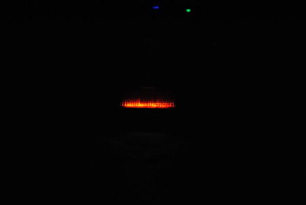 LEDスモール点灯 夜