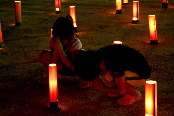鎮魂の竹灯り-13