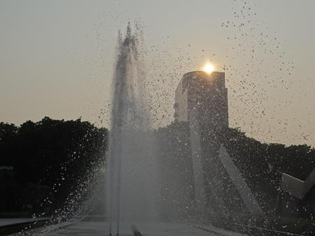 名古屋市科学館噴水