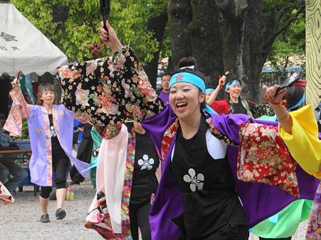太閤まつりの踊り