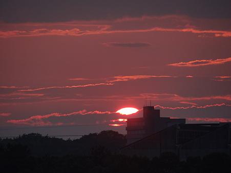 20110811 夕陽