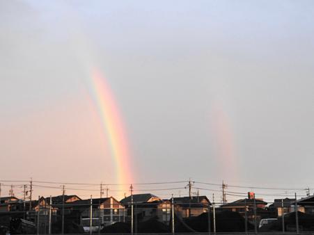20110921 二重の虹