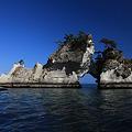 嵯峨渓の島々