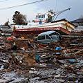 大津波の惨状