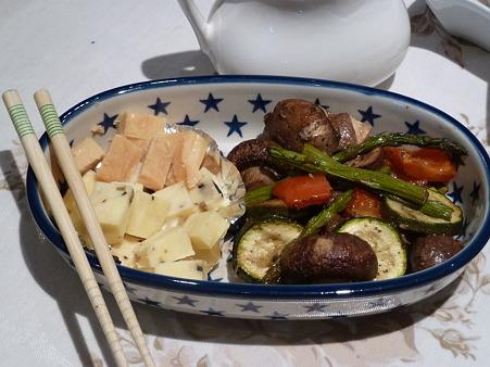季節の野菜のオーブン焼き