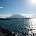 写真: 朝の桜島1