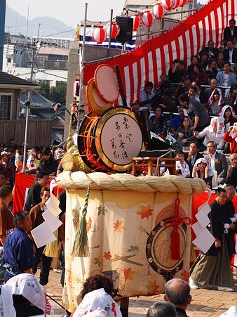 本古川町の傘鉾