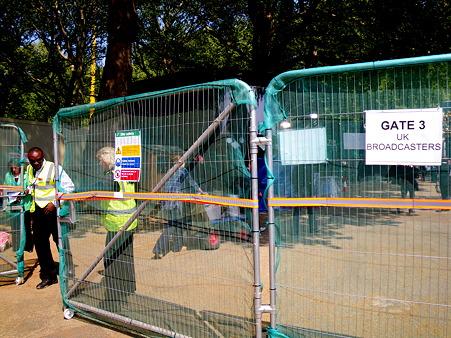 uk broadcast entrance
