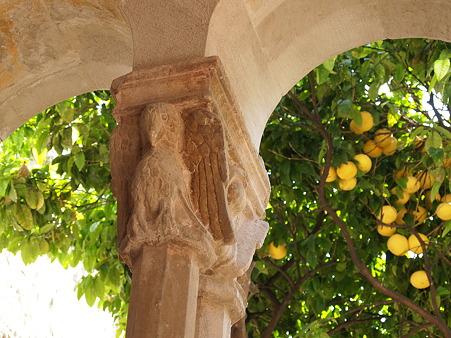 鷲とレモン