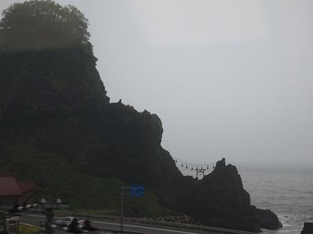 日本海・・・の神社?