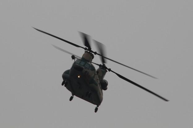 バタバタ@CH-47J