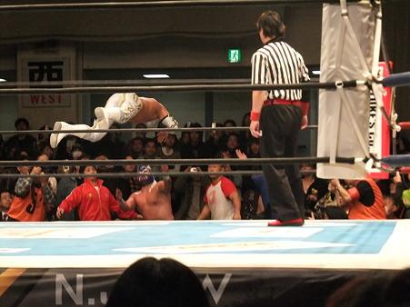 新日本プロレス CMLL 後楽園ホール 20110123 (8)