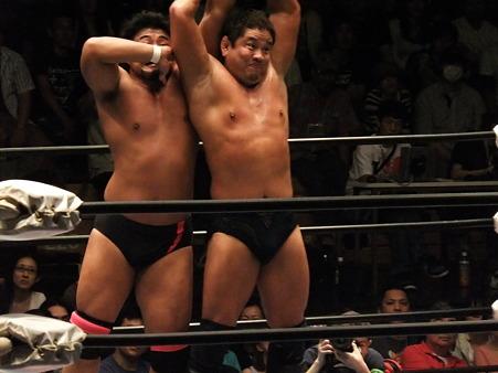 全日本プロレス 後楽園ホール 20110712 (27)