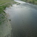 Photos: 春のうららのた~ま~がわ♪おっさんが河原で昼寝中!
