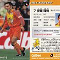 写真: Jリーグチップス1998No.121伊東輝悦(清水エスパルス)